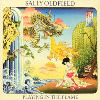 SALLY OLDFIELD 1981 Playing In The Flame