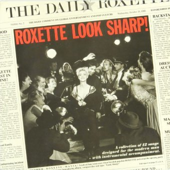 ROXETTE 1988 Look Sharp!