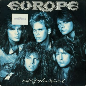 EUROPE 1988 Out Of This World
