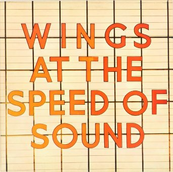 WINGS 1976 Wings At The Speed Of Sound