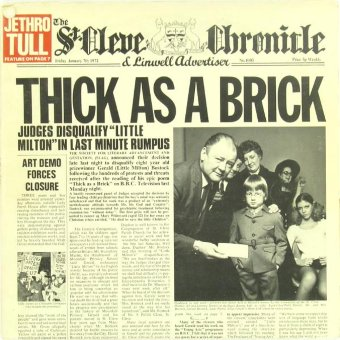 JETHRO TULL 1972 Thick As A Brick