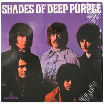 DEEP PURPLE 1968 Shades Of Deep Purple