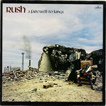 RUSH 1977 A Farewell To Kings
